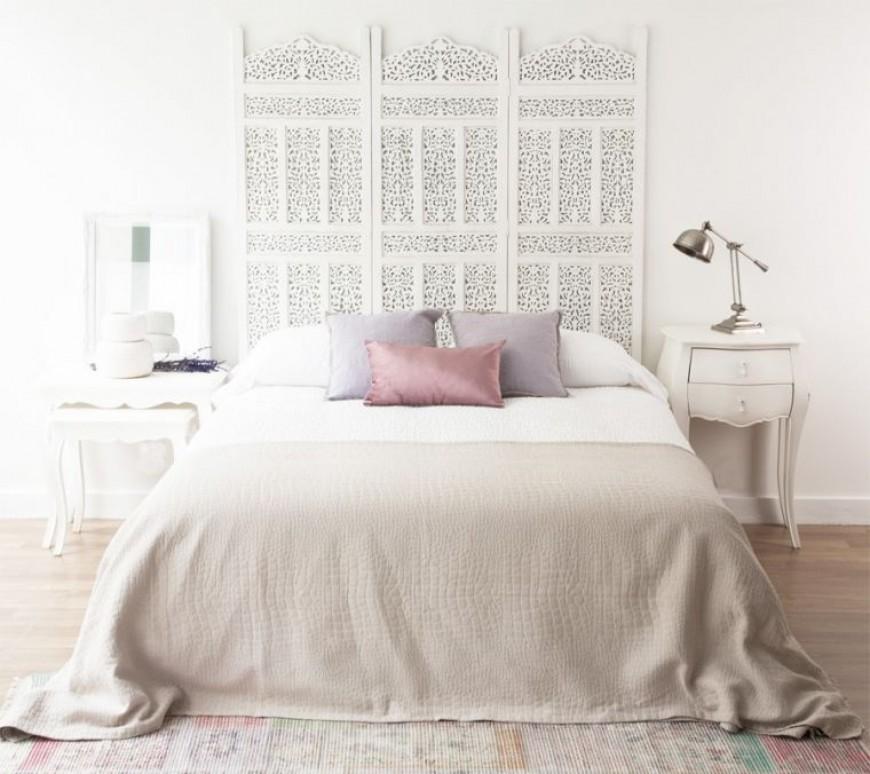 Cabeceros originales para decorar el dormitorio