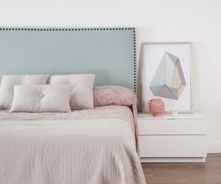 Cabeceros ideales para decorar el dormitorio blog de for Cabeceros de cama tapizados