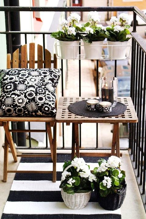 Mobiliario plegable terraza