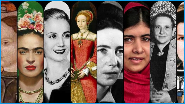 La historia de la humanidad esta escrita en femenino.. el futuro también